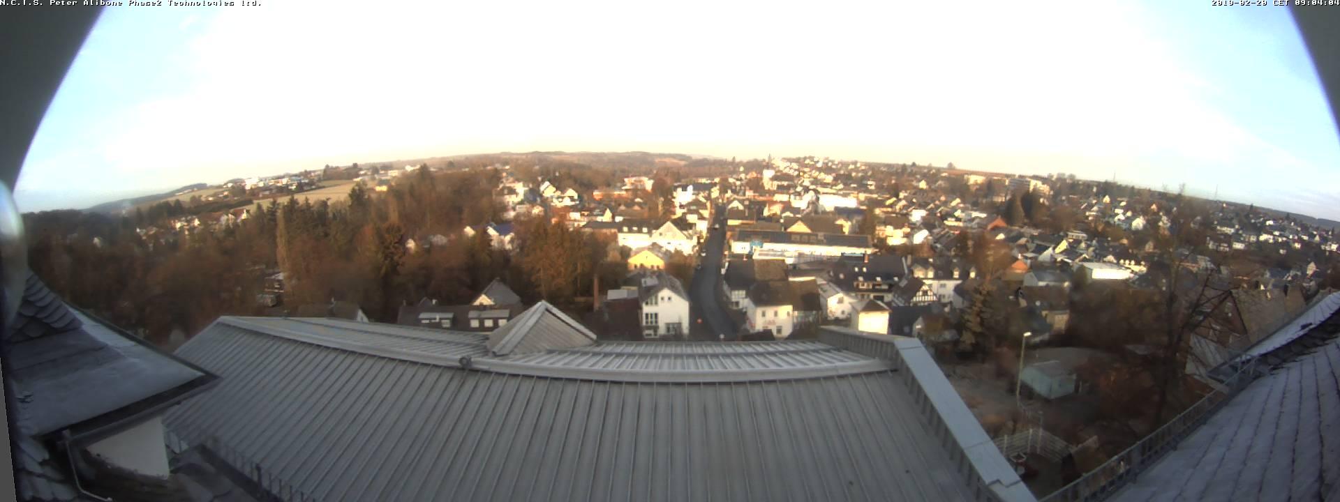 Webcam-Ansicht auf Nastätten